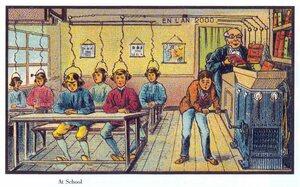 Schule 2000 - Vision um 1900